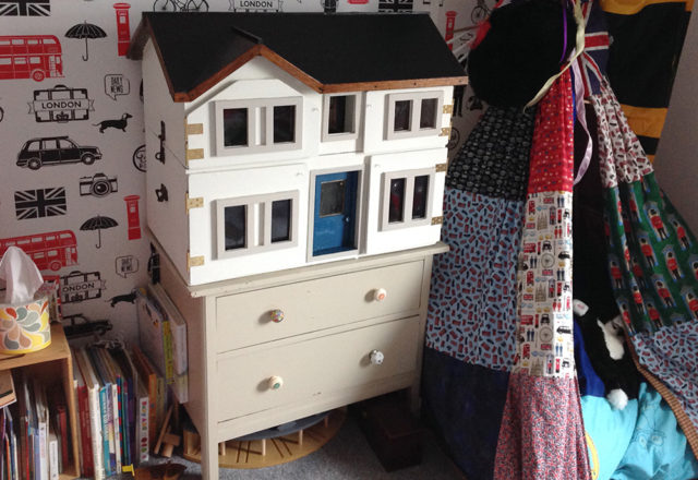Refurbished Dolls House