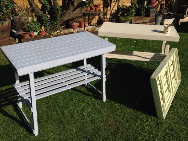 Picnic Table Hand Made